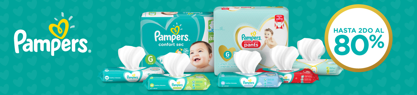 P&G Pampers Mayo 16 al 31