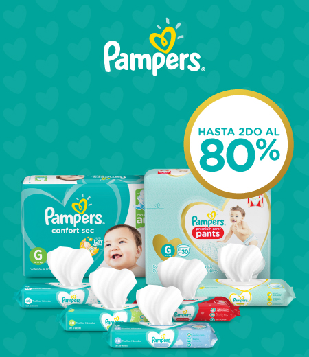 P&G Pampers Mayo 16 al 31 MOB