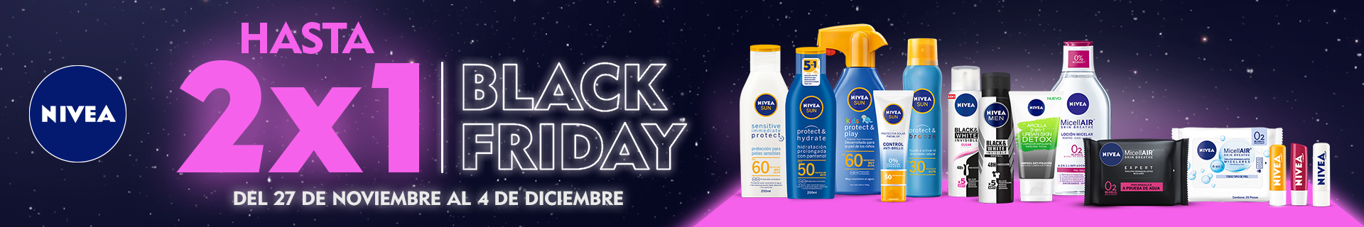 [BLACKFARMA] NIVEA [NOV-DIC] 27-->04